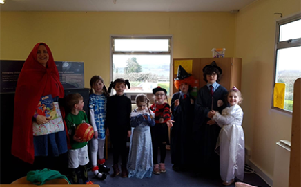 We celebrated World Book Day at school by holding our annual Scholastic Book Fair and a day of book-ish fun, organised by Ms. Whelan. The children dressed up as their favourite book character and they enjoyed a book quiz and a Bear Hunt in the school gardens. The children spent their World Book Day vouchers at the Book Fair and we are grateful to all those who supported our Book Fair by purchasing books. We are delighted to have €136 in credit to spend on books for class libraries. We also added a selection of audiobooks to our school library this month.