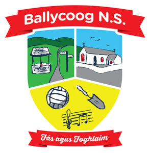 St. Kevin's Ballycoog National School Crest