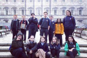 Visit to Dáil Éireann